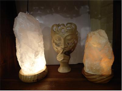 Kristall Lampen