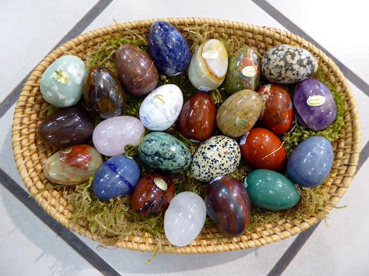 Edelstein Eier