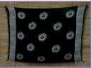 Sarong schwarz batik Sonne