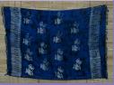 Sarong blau batik mit Fischen