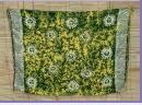 Sarong gelb-grün batik Sonne