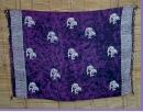 Sarong voilett batik Delphin