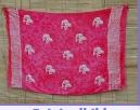 Sarong pink batik Delphin
