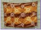Sarong braun-ocker star