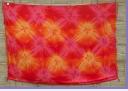 Sarong  gelb-pink-orange star