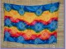 Sarong blau, gelb und rot star