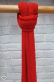 Viskose Schal, rot