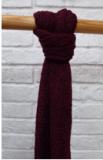 Pink Viskose Schal, blau