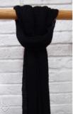 Pink Viskose Schal, schwarz