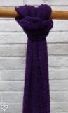 Pink Viskose Schal, violett