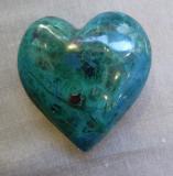 Chrysokoll Herz AAA