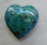 Chrysokoll Herz