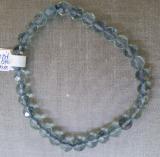 Fluorit 6 mm blau fac.