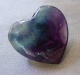 Fluorit Herz