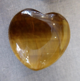 Tigerauge Herz 25 mm