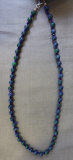 Azurit-Malachit-Lapis Collier