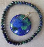 Azurit-Malachit Armband