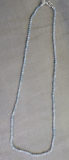 Aquamarin 2mm Collier
