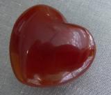Karneol Herz