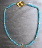 Amazonit Double Collier