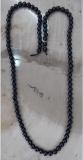 Saphir, schwarz 6 mm