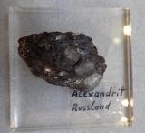 Alexandrit, Chrysoberyll, chromhaltig sehr, sehr rar