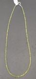 Chrysoberyll Collier