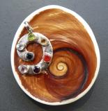 Chakren Spiral Anhänger
