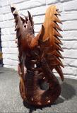 Schutz Drache Suar Holz
