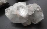 Apophyllith, silber-weiß