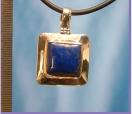 Lapis Lazuli Silberanhänger